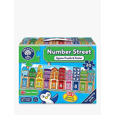 Picture of Orchard Toys Number Street Jigsaw Puzzle and Poster