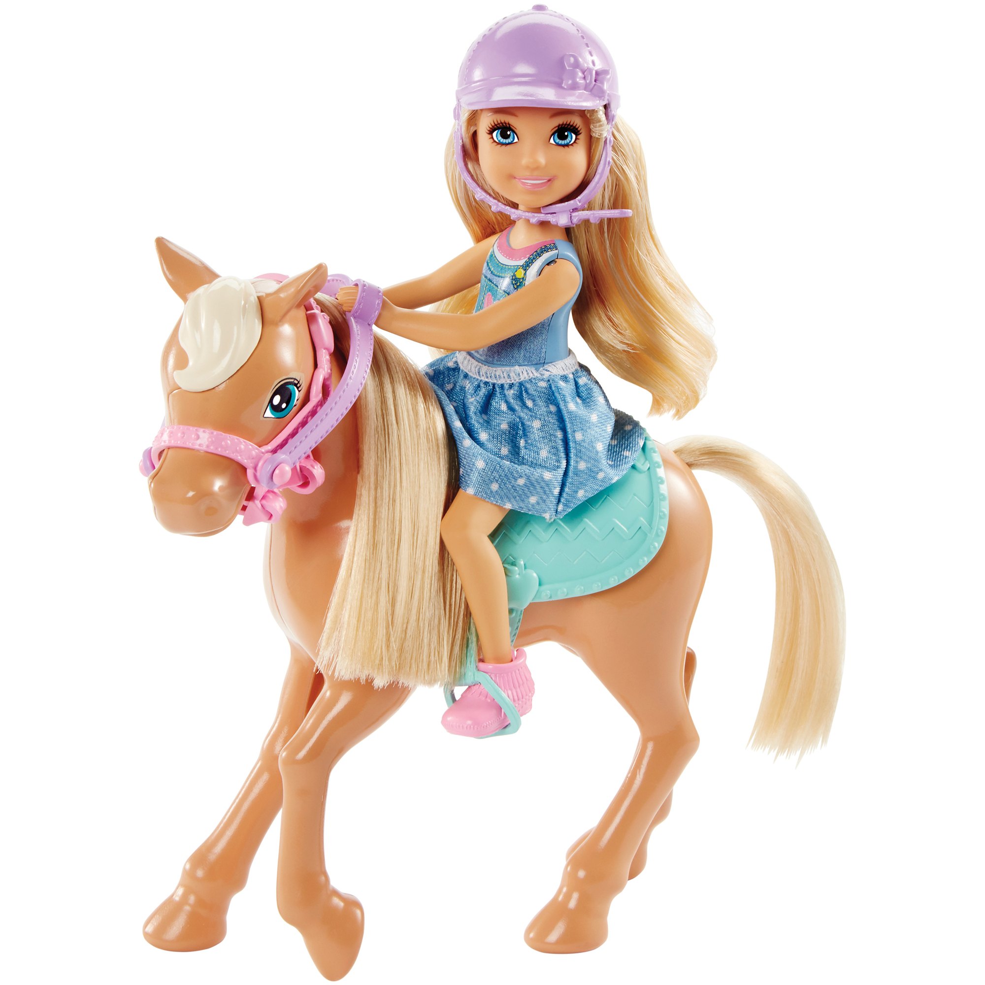 Picture of Barbie Club Chelsea Dolls & Horse
