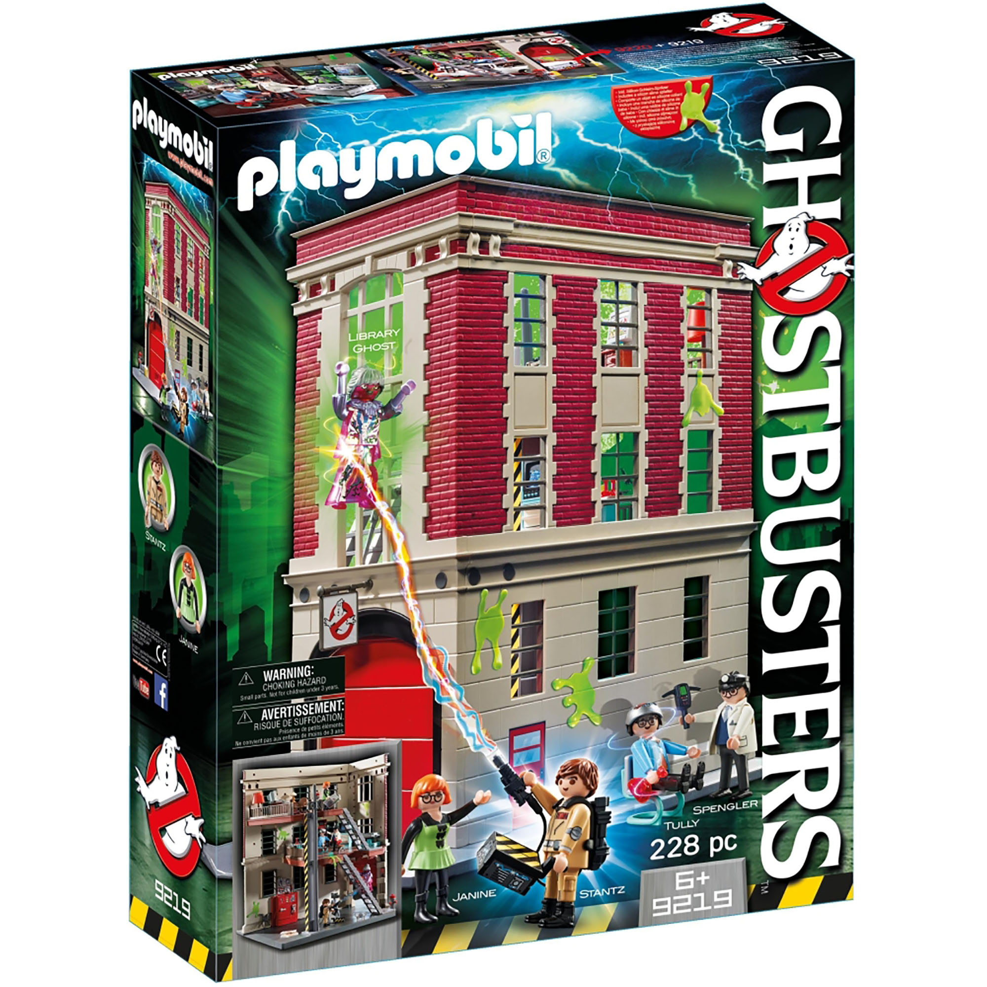 Picture of Playmobil Ghostbusters Fire Department 9219