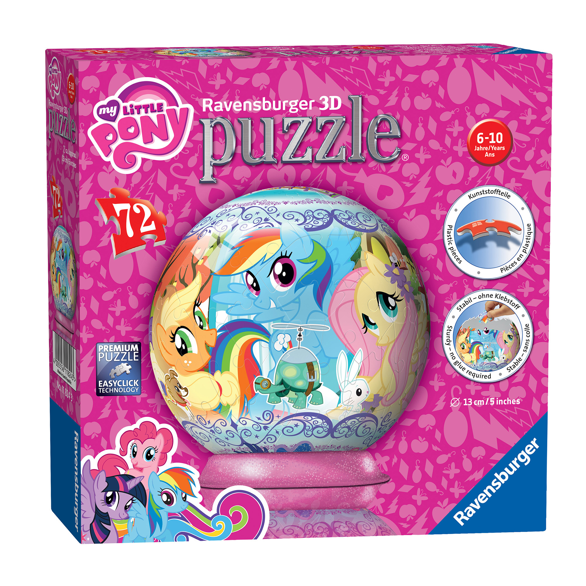 Picture of Ravensburger My Little Pony 72 Piece 3D Puzzle