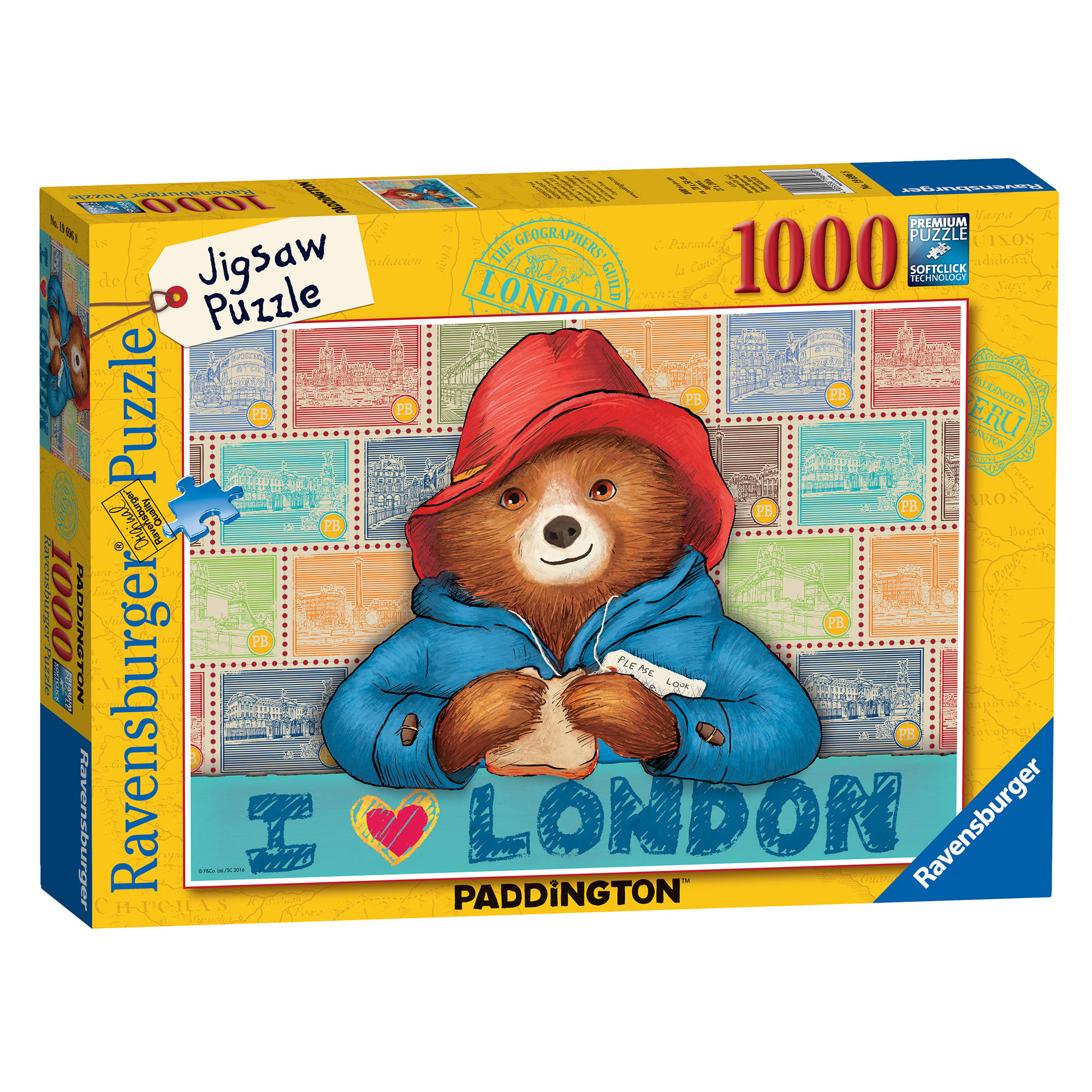 Picture of Ravensburger Paddington Bear 1000 Piece Puzzle