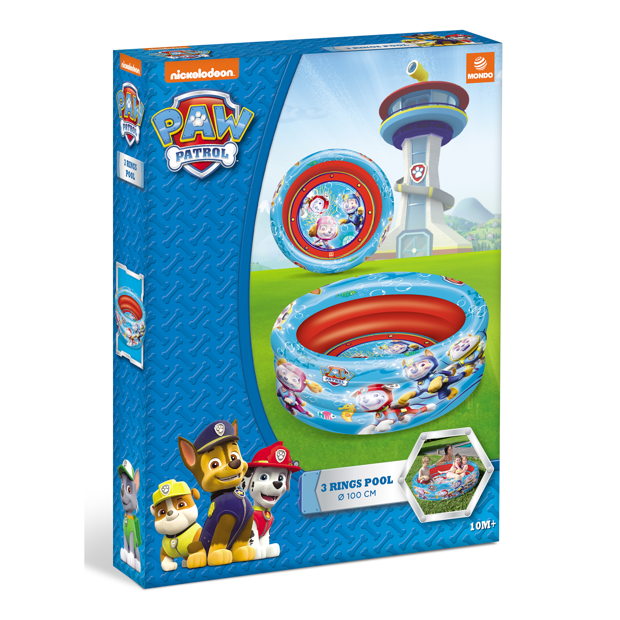 Picture of PAW Patrol 3 Ring 100cm Pool