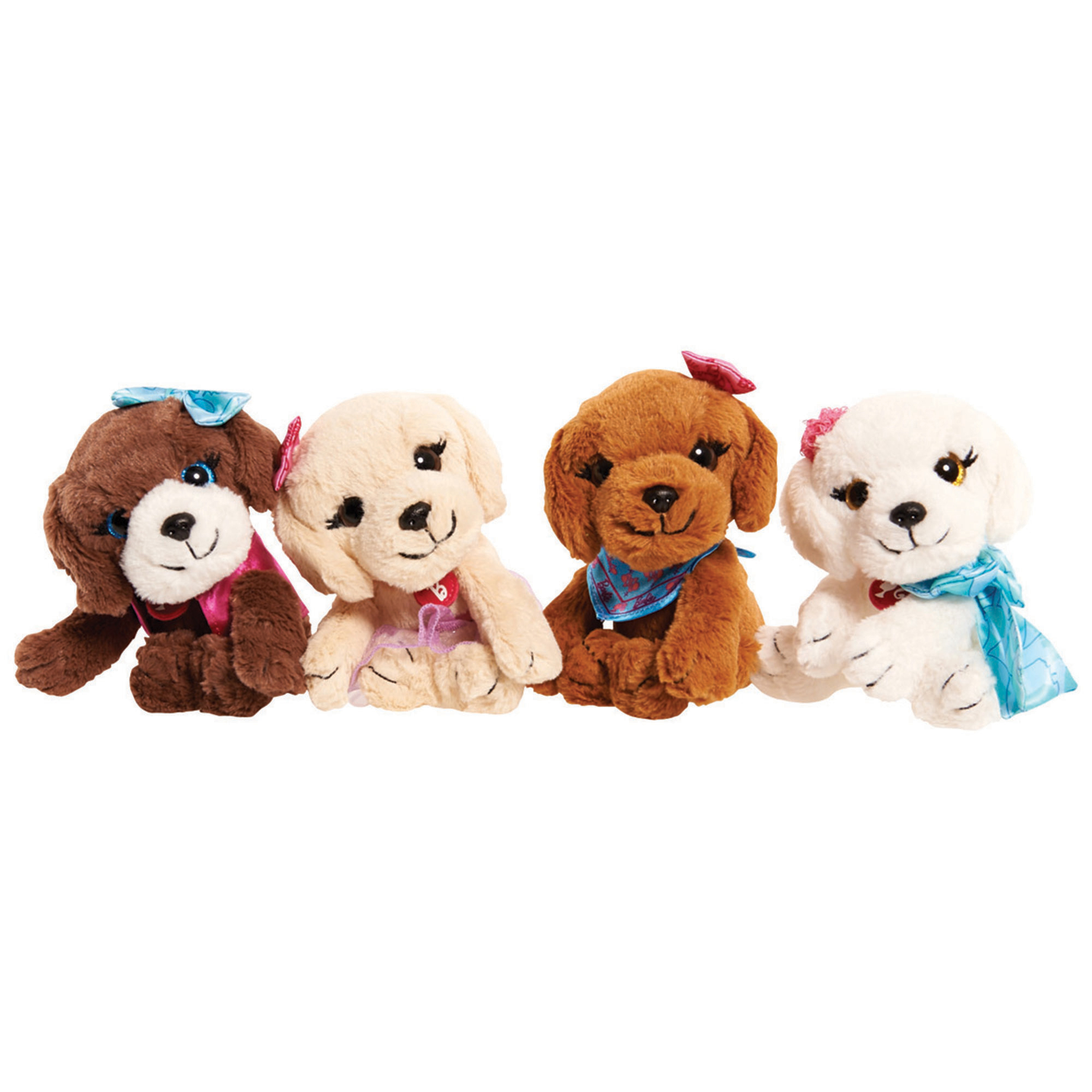 Picture of Barbie Great Puppy Adventure Soft Toy Assortment