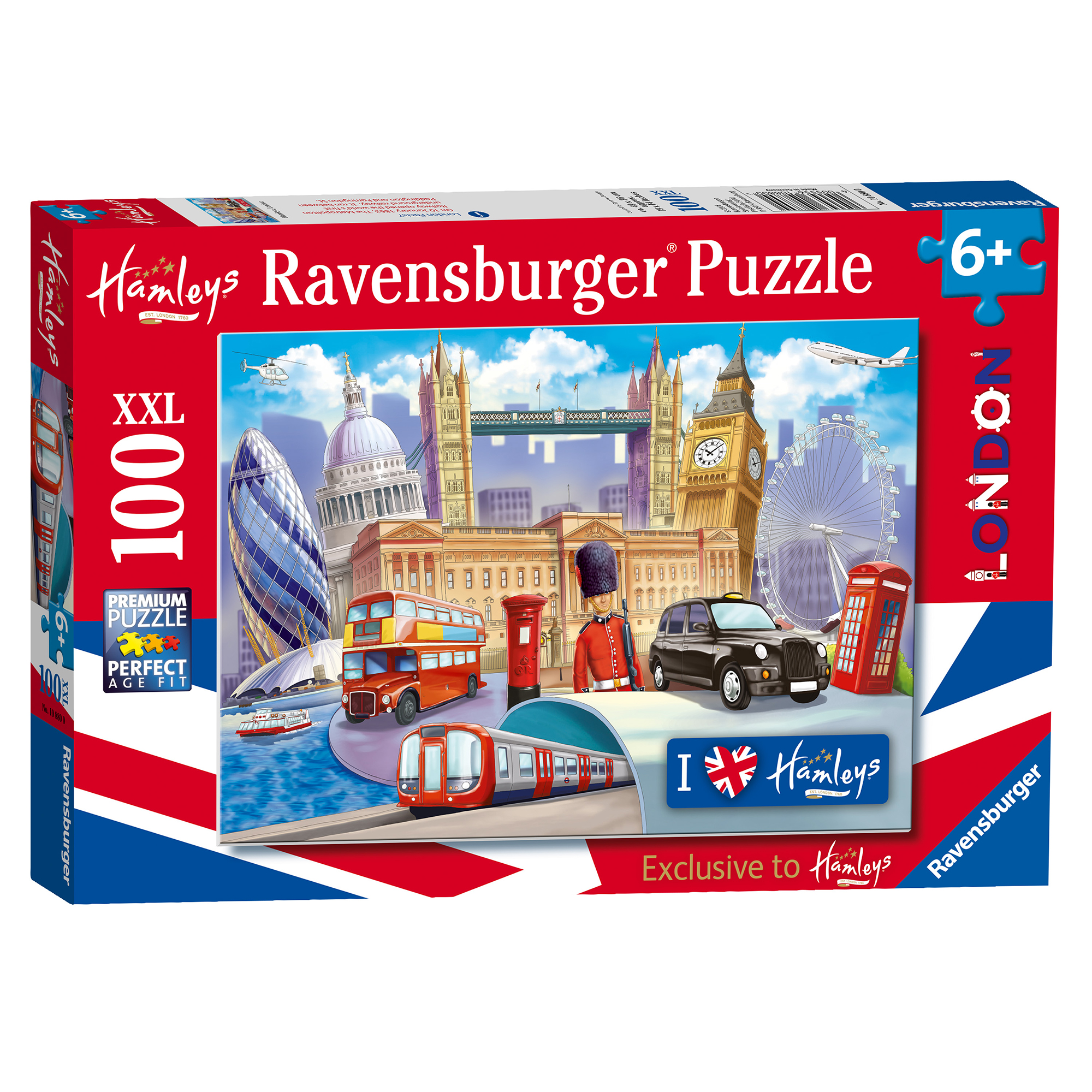 Picture of Ravensburger Hamleys London XXL 100 Piece Puzzle