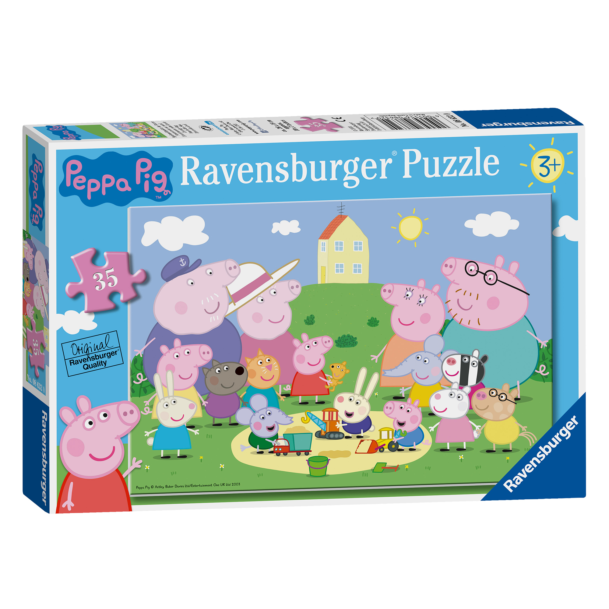 Picture of Ravensburger Peppa Pig Park Puzzle