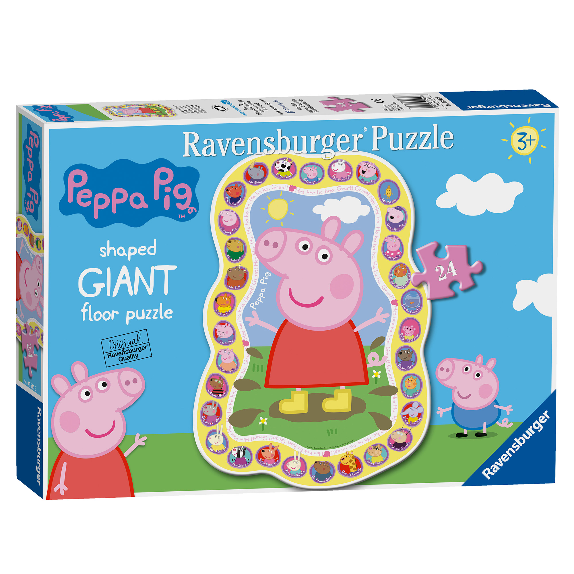 Picture of Ravensburger Peppa Pig 24 Piece Giant Floor Puzzle
