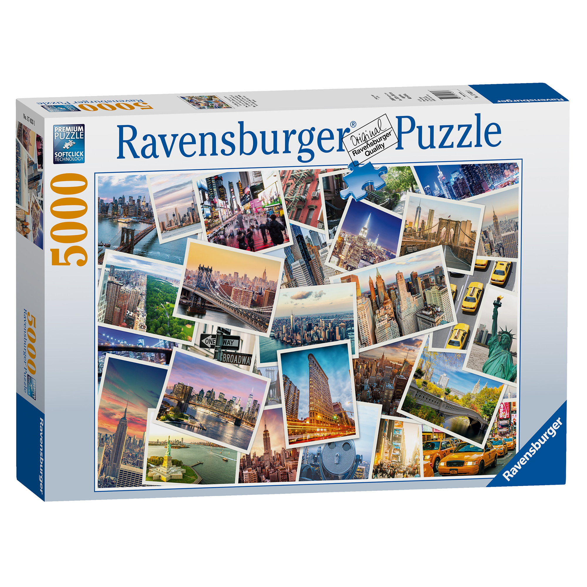 Picture of Ravensburger New York 5000 Piece Puzzle