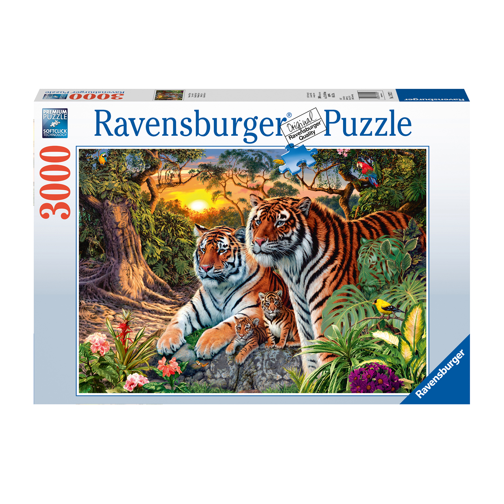 Picture of Ravensburger Hidden Tigers 3000 Piece puzzle