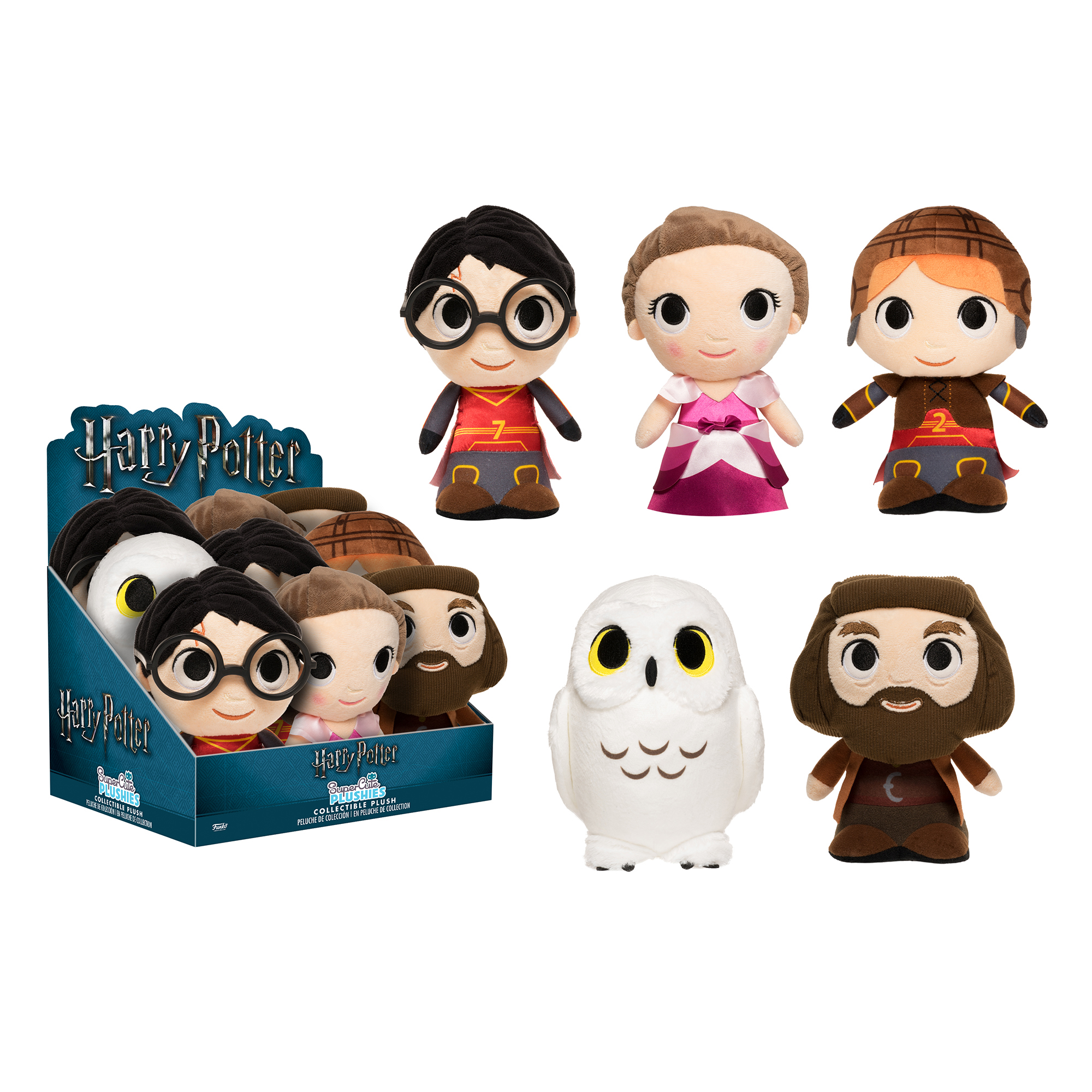 Picture of Harry Potter 7-Inch Soft Toy Assortment