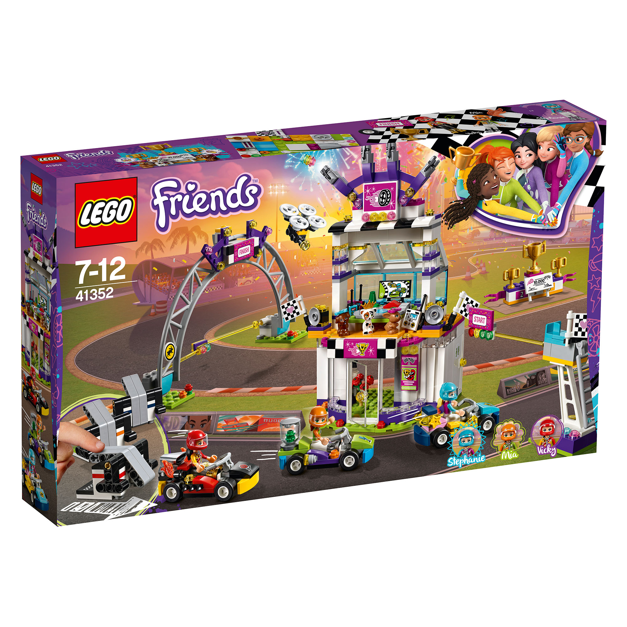 Picture of LEGO Friends Big Race Day 41352
