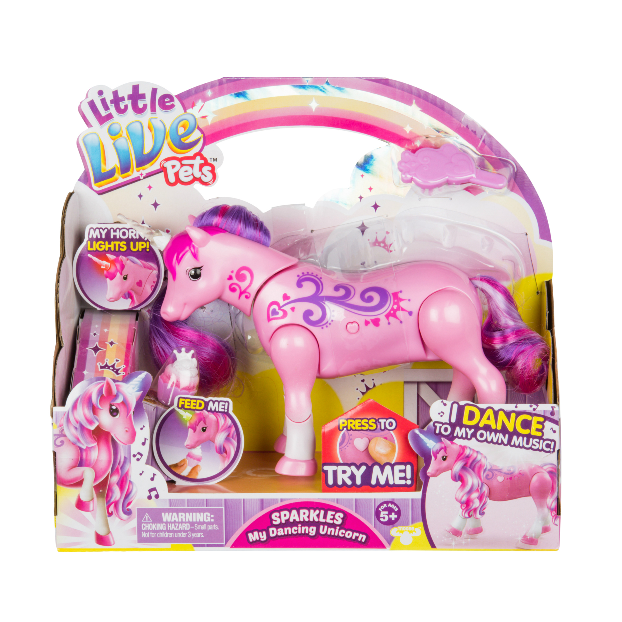 Picture of Little Live Pets Sparkles My Dancing Unicorn