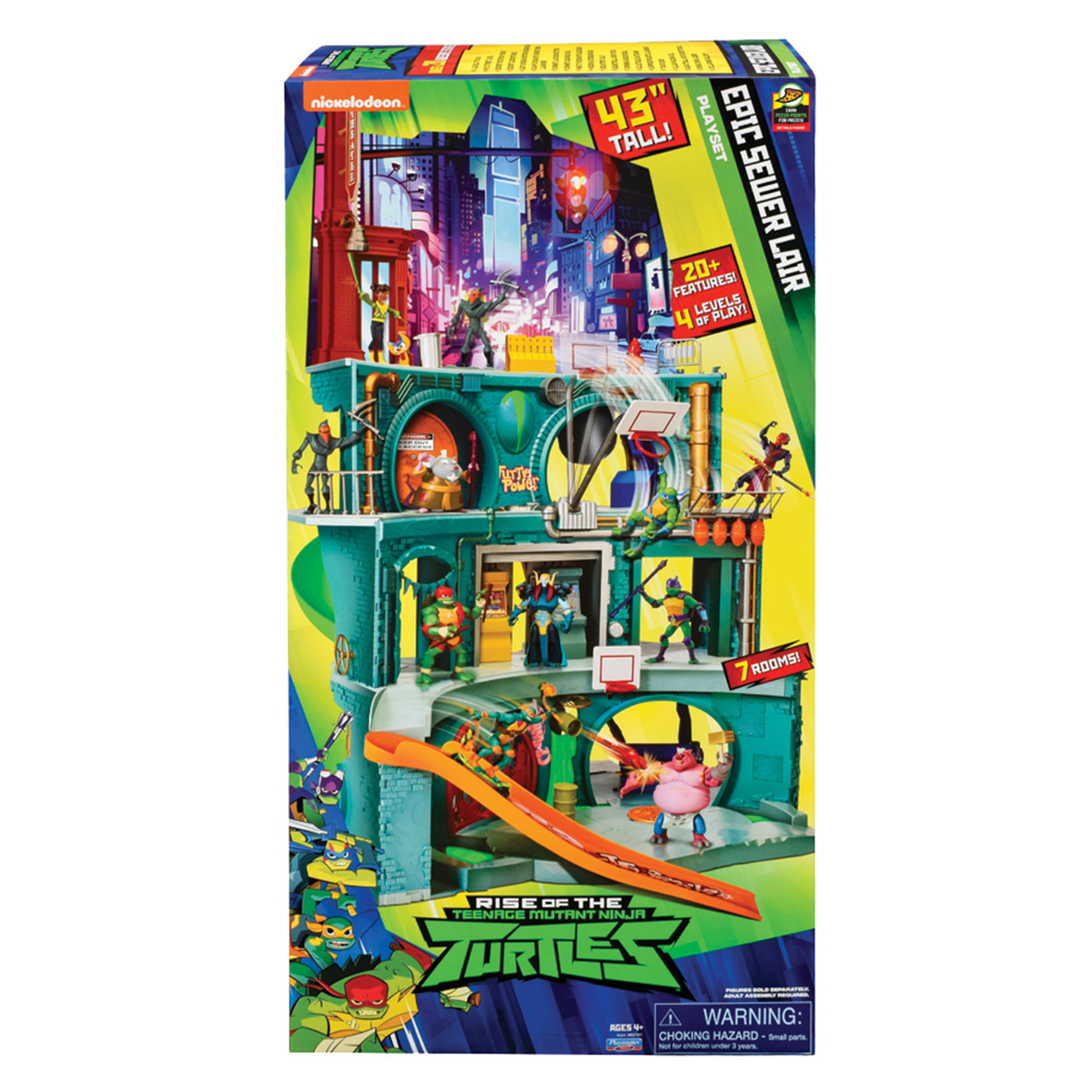 Picture of TMNT Epic Sewer Lair Playset