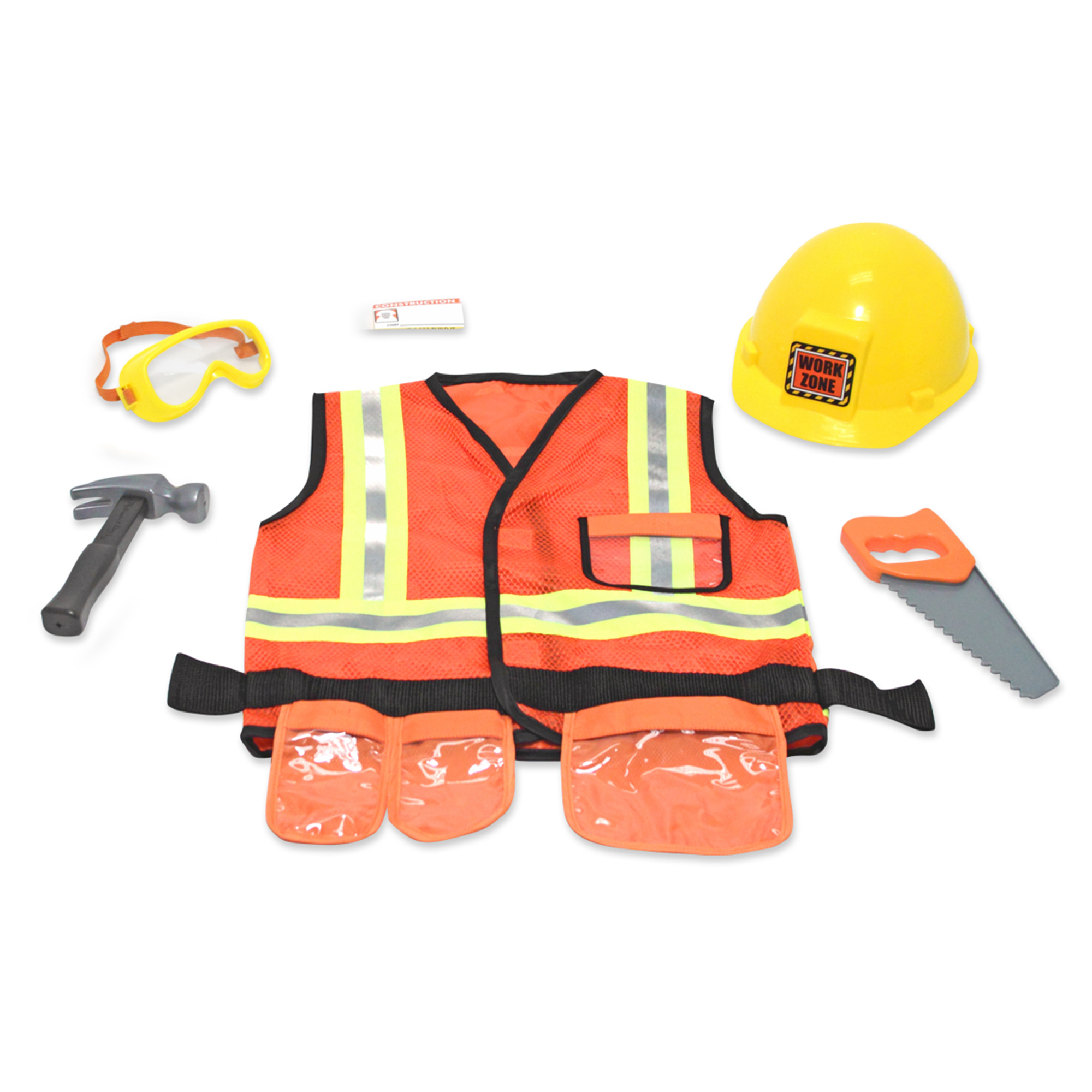 Picture of Melissa & Doug Construction Worker Roleplay Set
