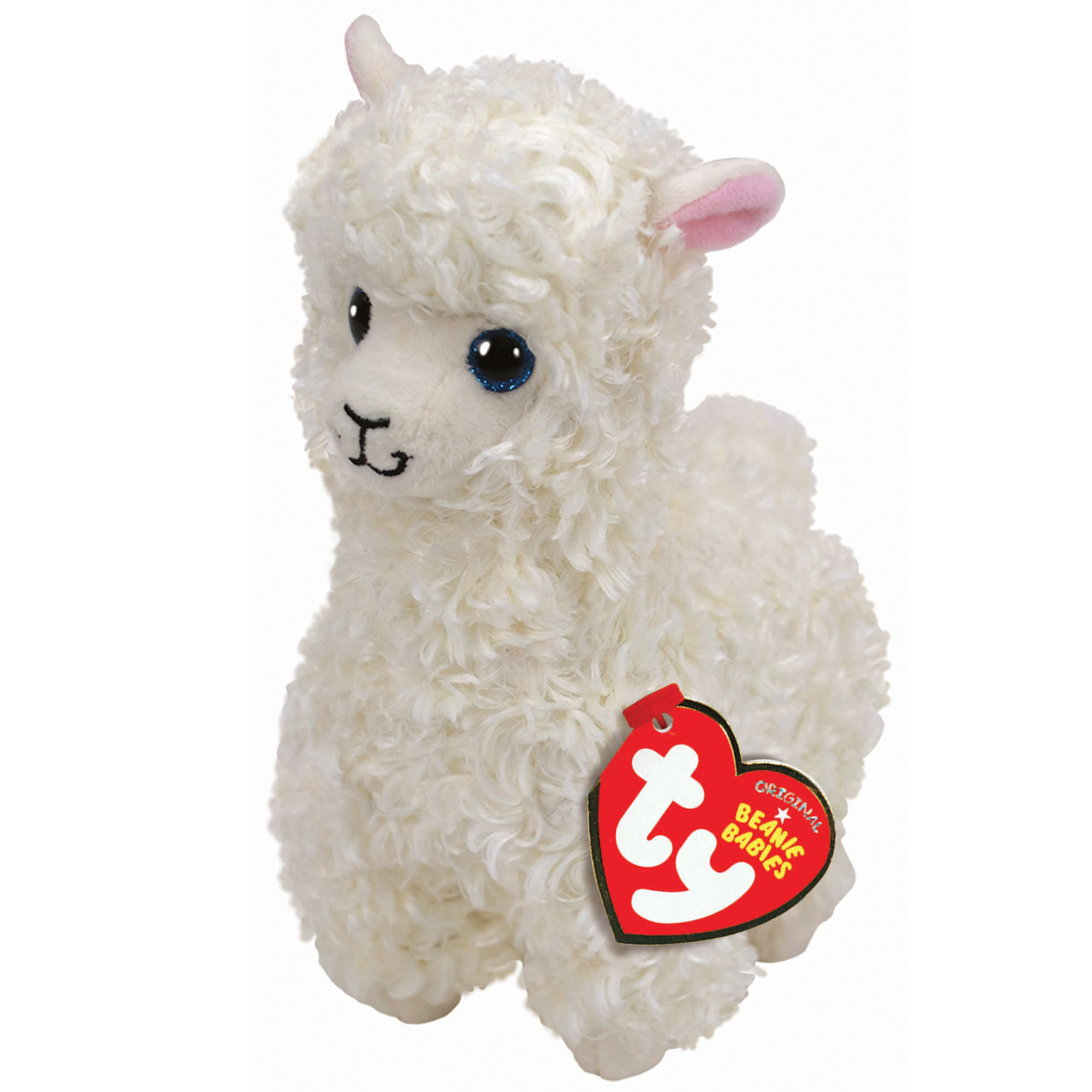 Picture of TY Lily Llama Beanie Baby Toy