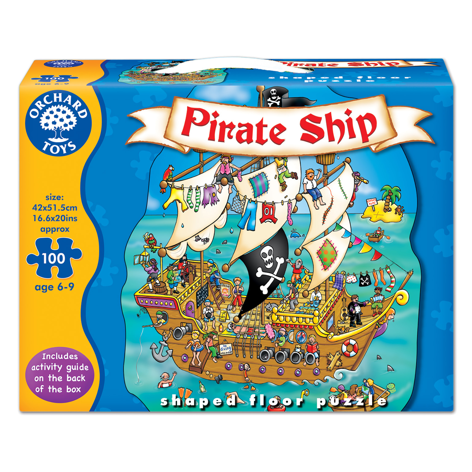 Picture of Orchard Toys Priate 100-Piece Ship Puzzle