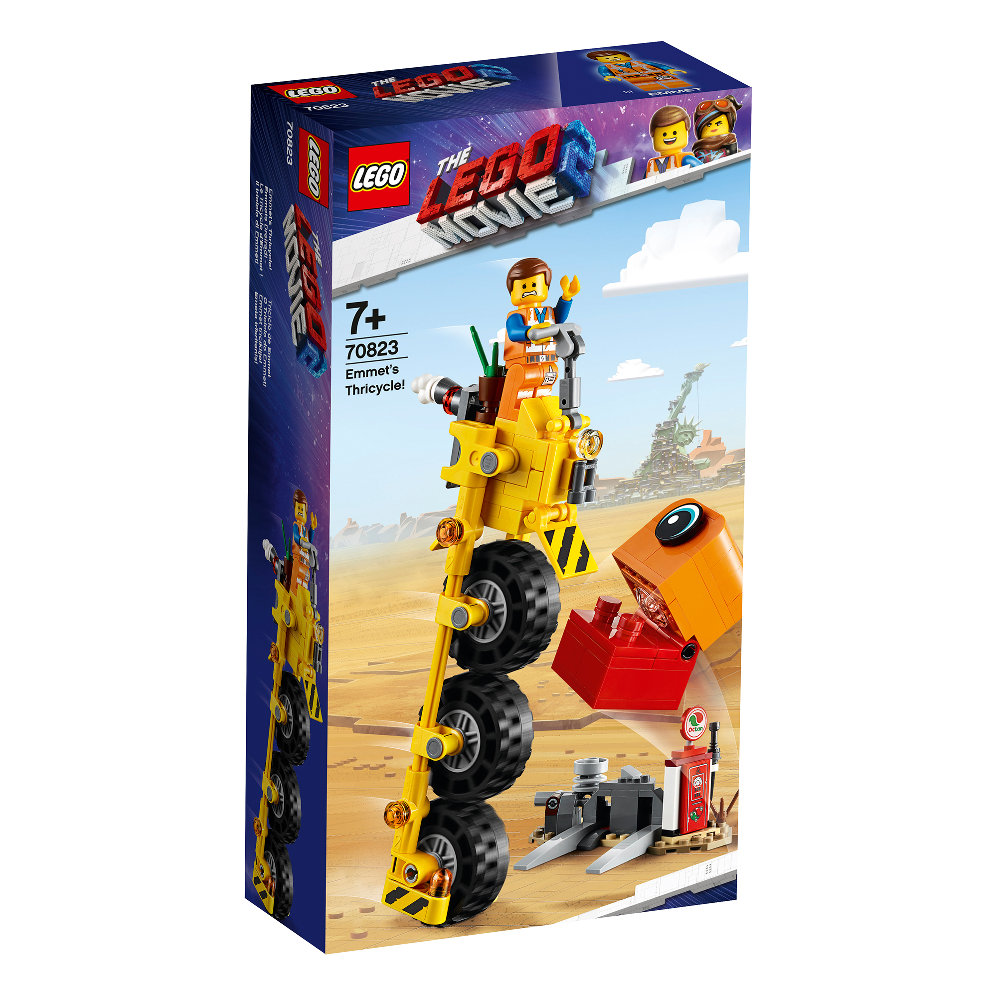 Picture of LEGO Movie 2 Emmet's Thricycle 70823
