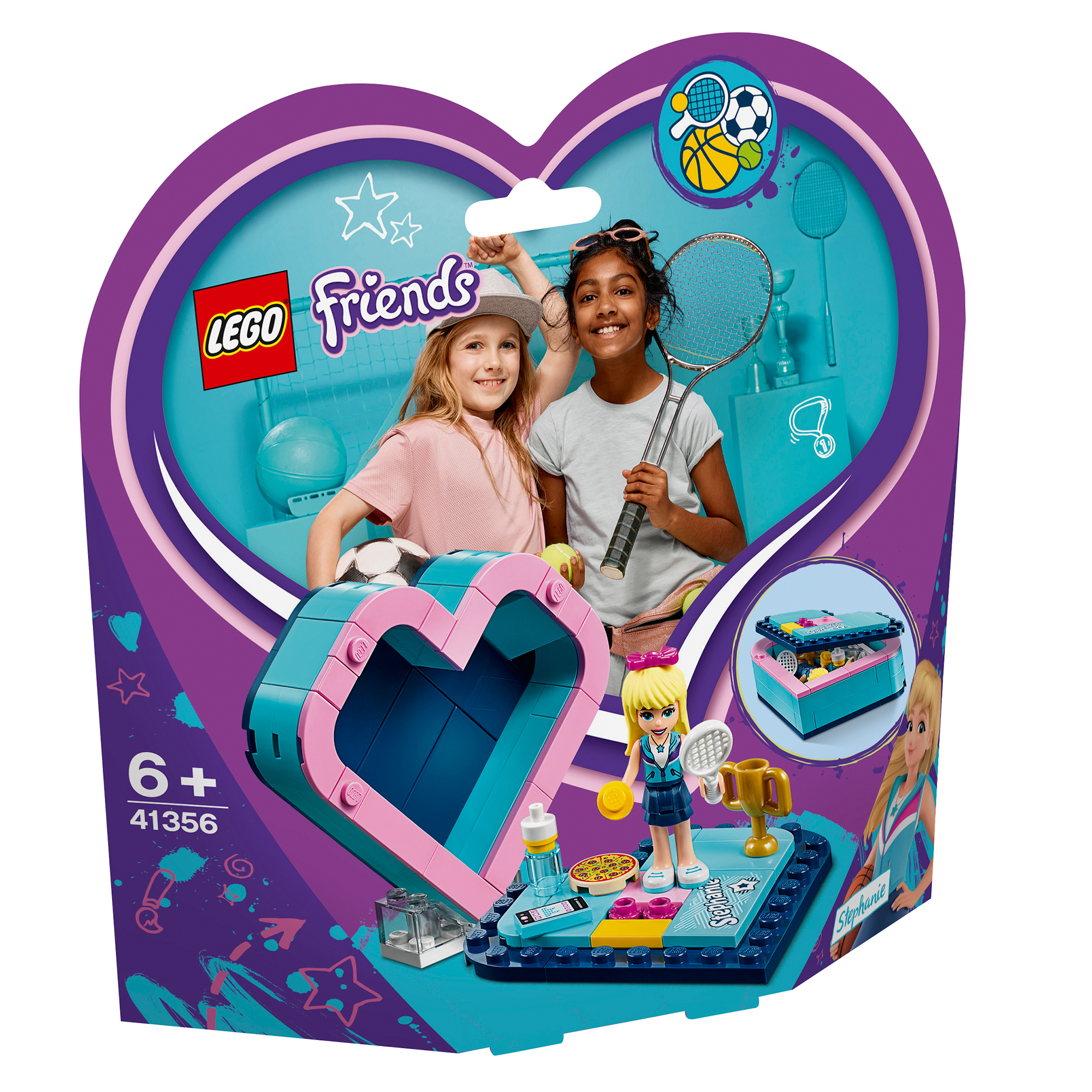 Picture of LEGO Friends Stephanie's Heart Box 41356