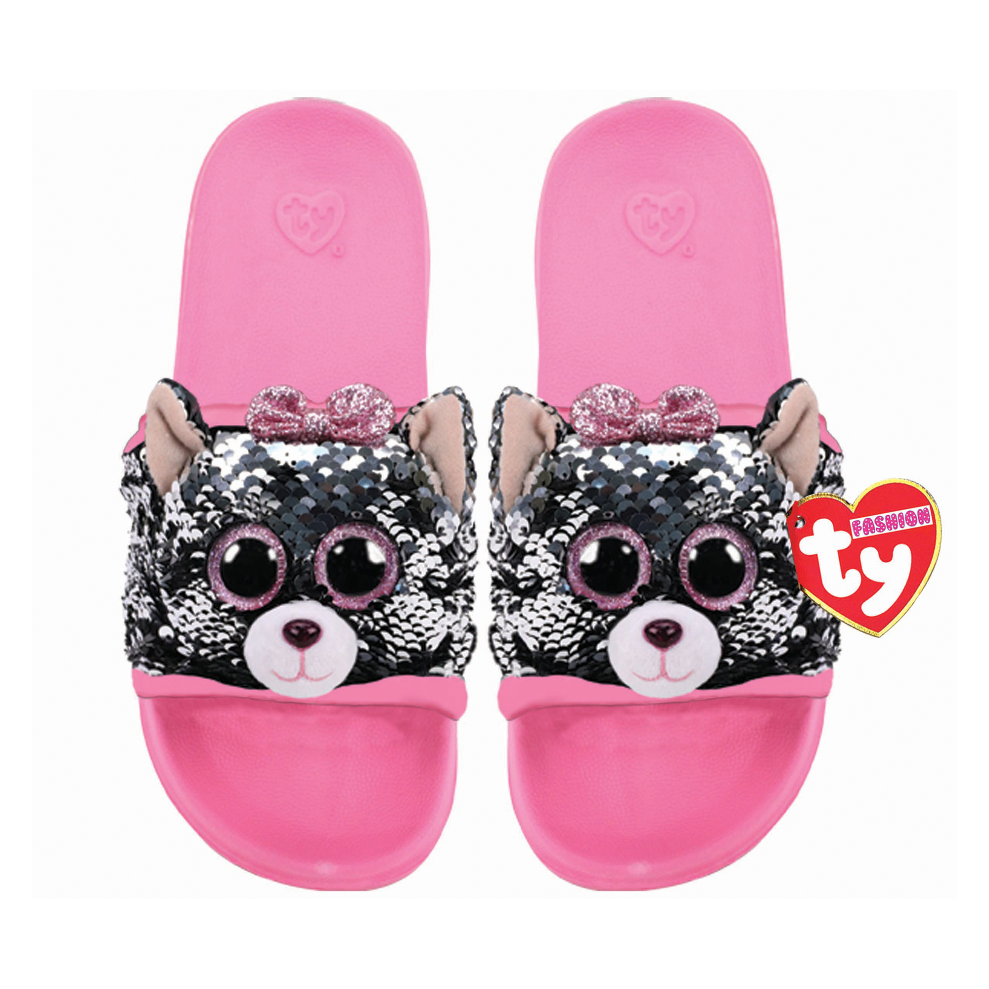 Picture of TY Kiki Cat Flip Slides Sandals Large