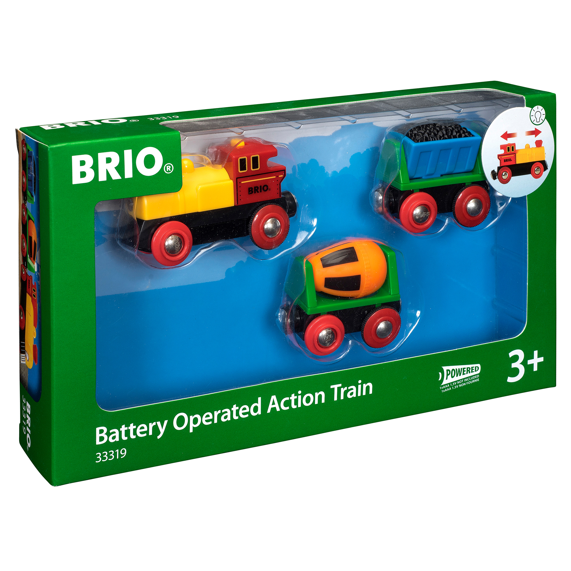 Picture of BRIO Battery Operated Action Train