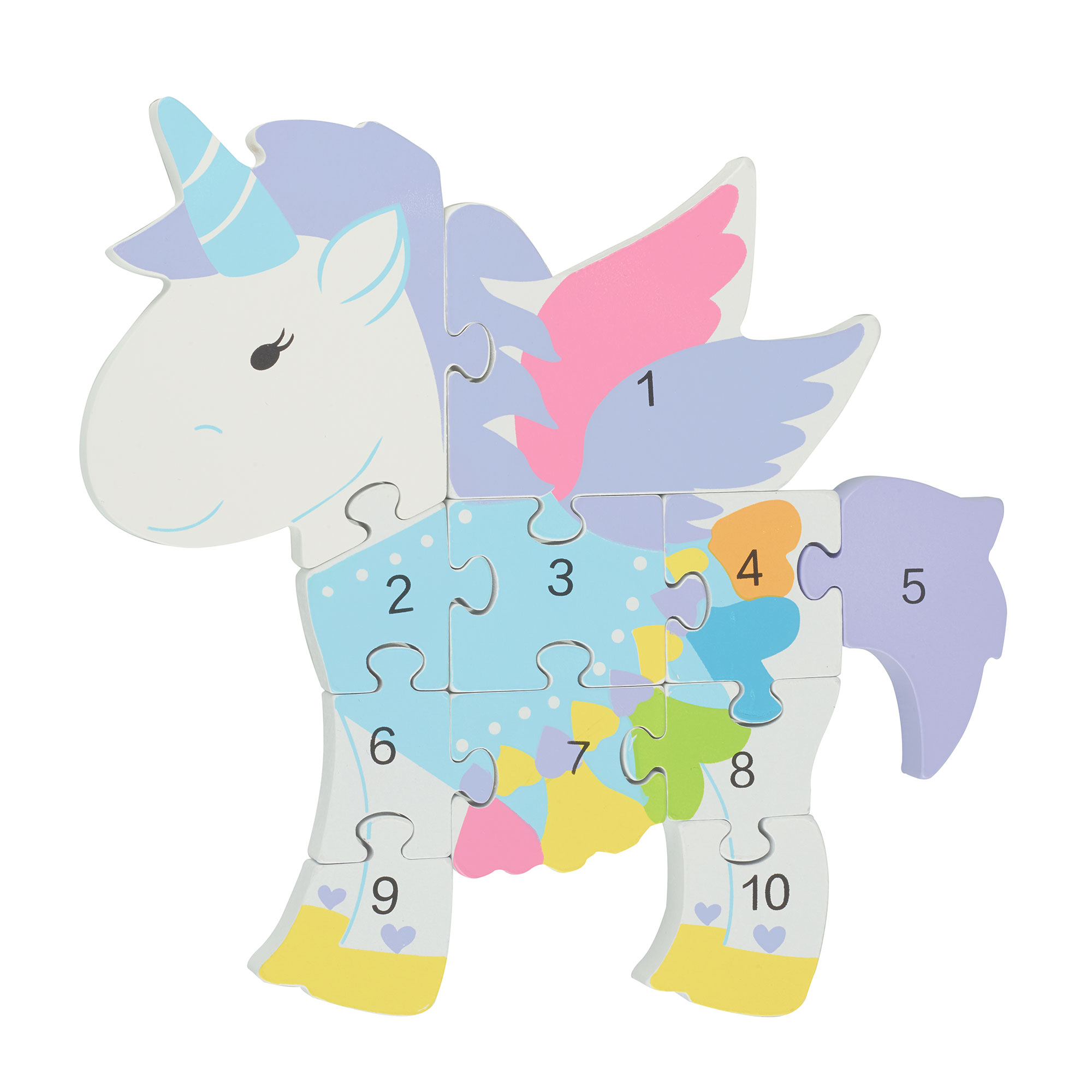 Picture of Unicorn Number Jigsaw Puzzle