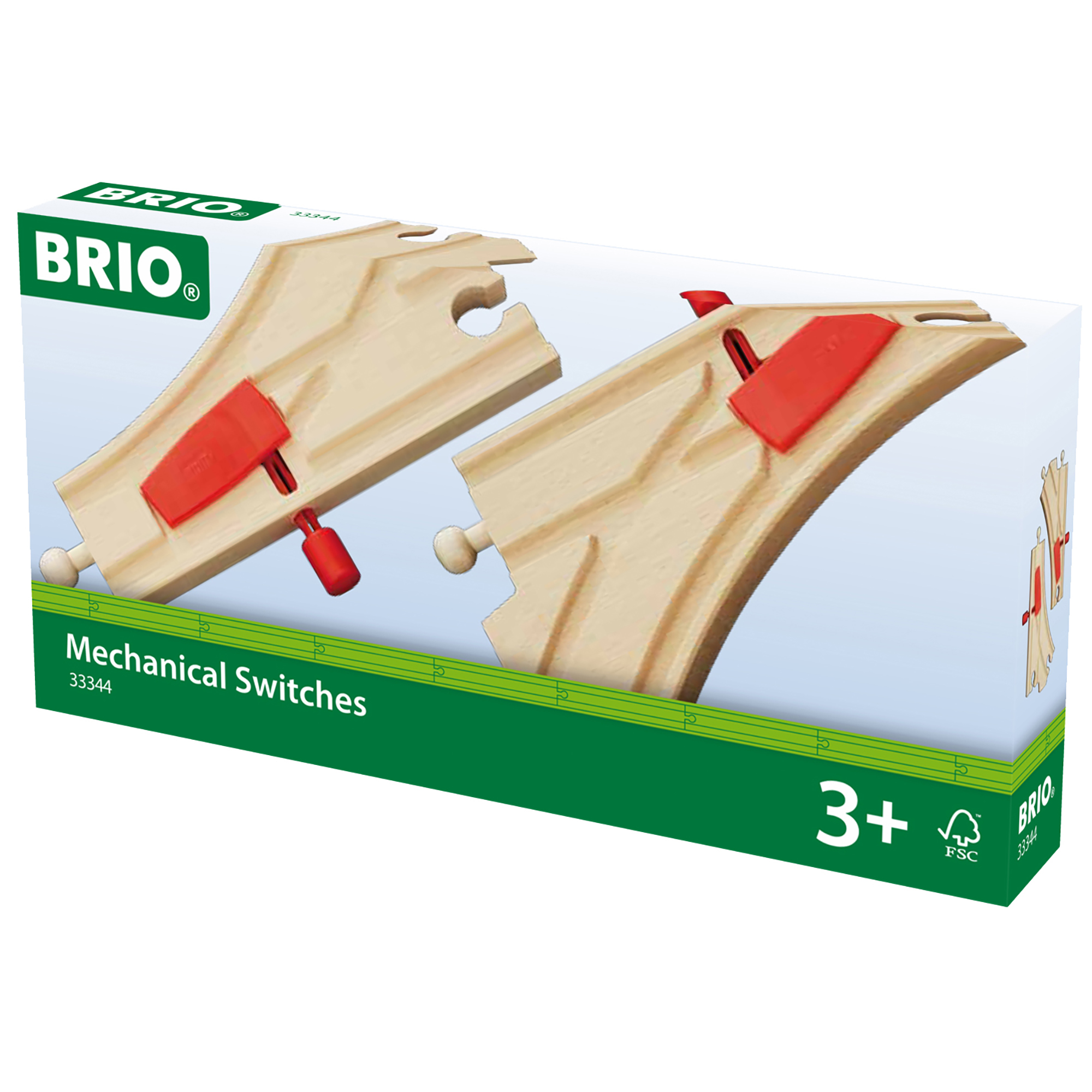 Picture of BRIO World Railway Track Mechanical Switches