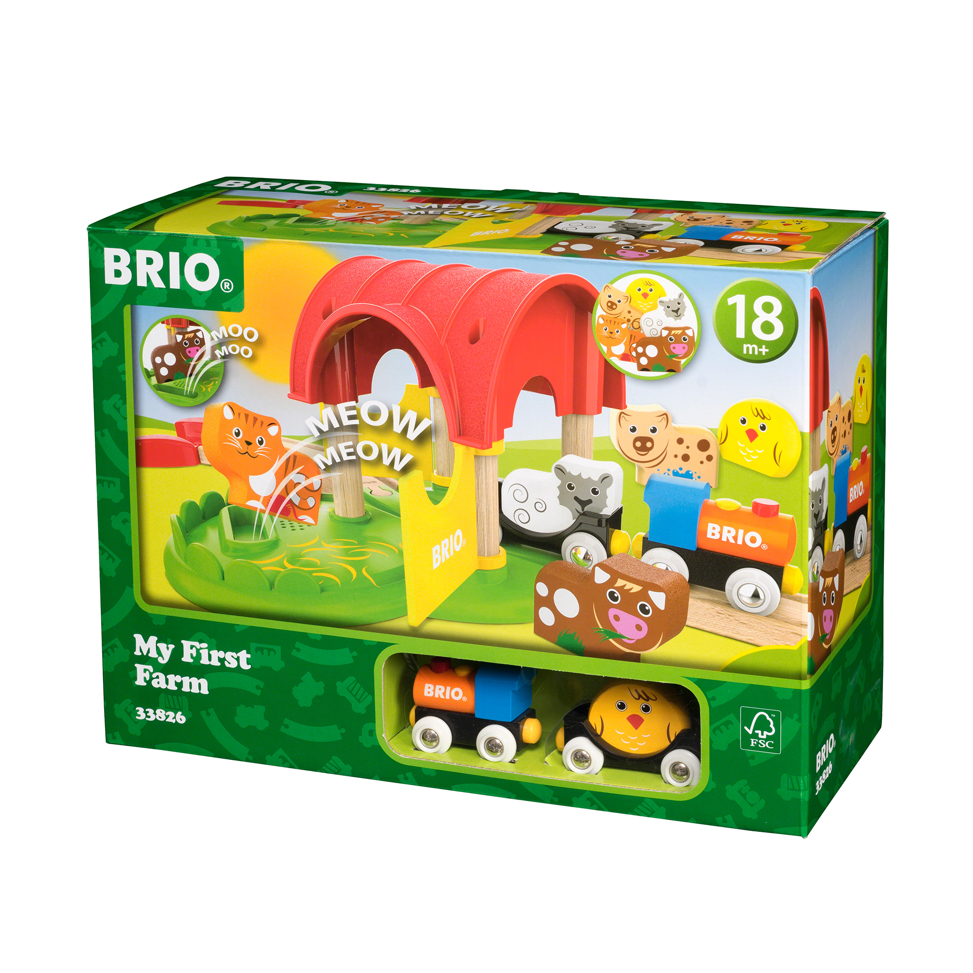 Picture of BRIO My First Railway Farm