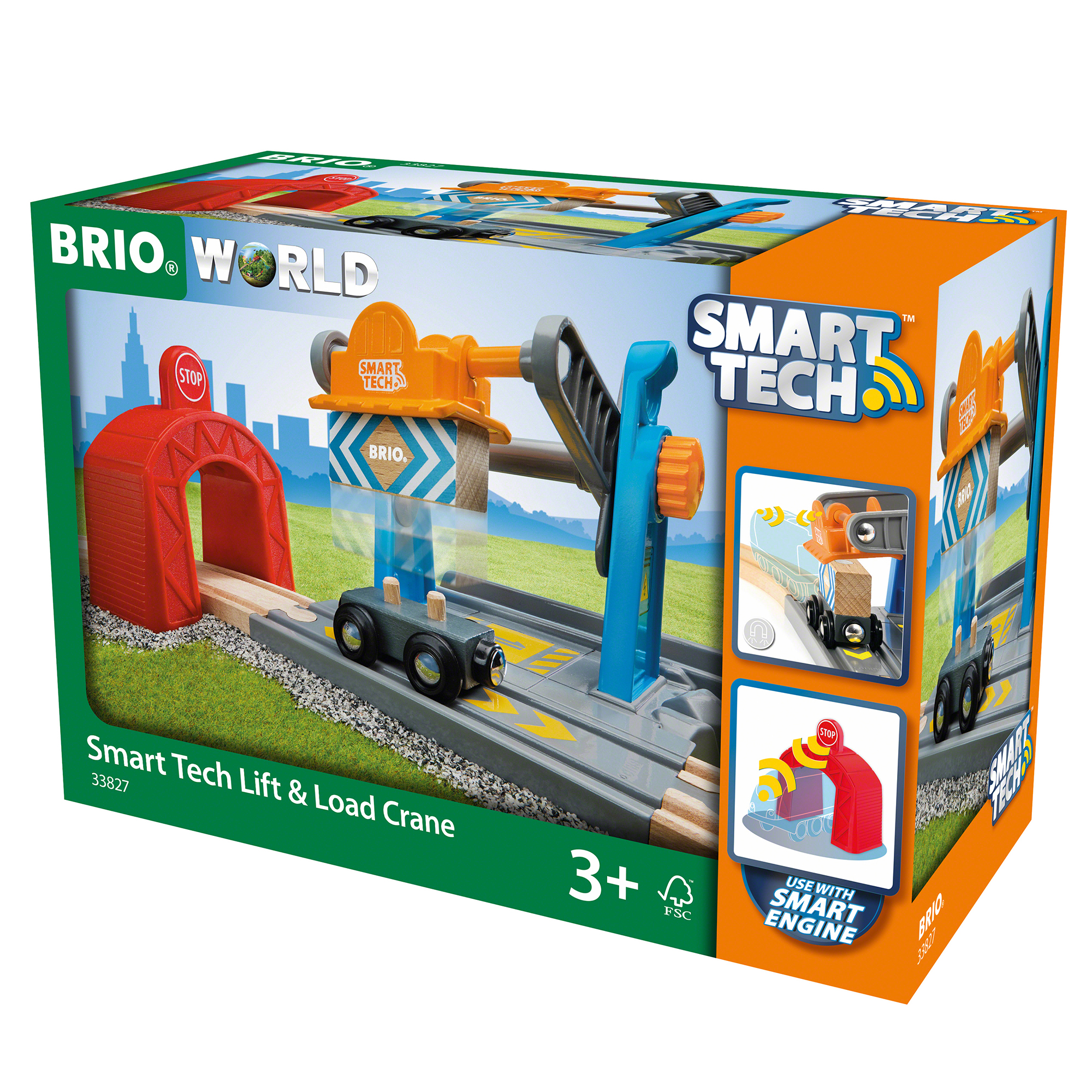 Picture of BRIO World Smart Tech Lift & Load Crane