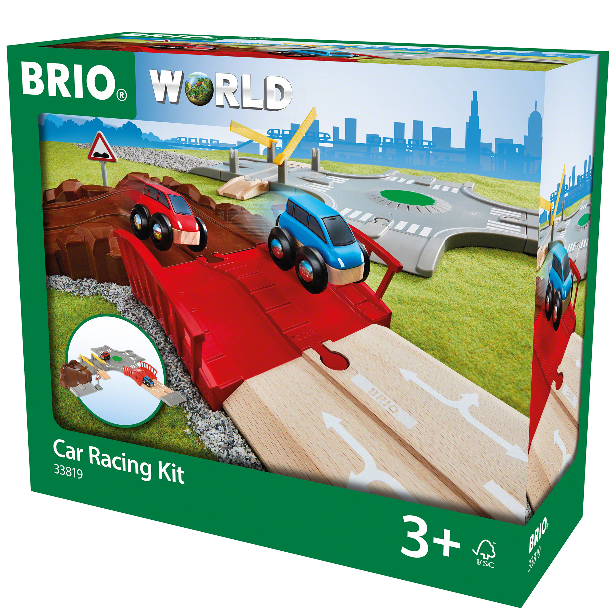 Picture of BRIO World Car Racing Kit