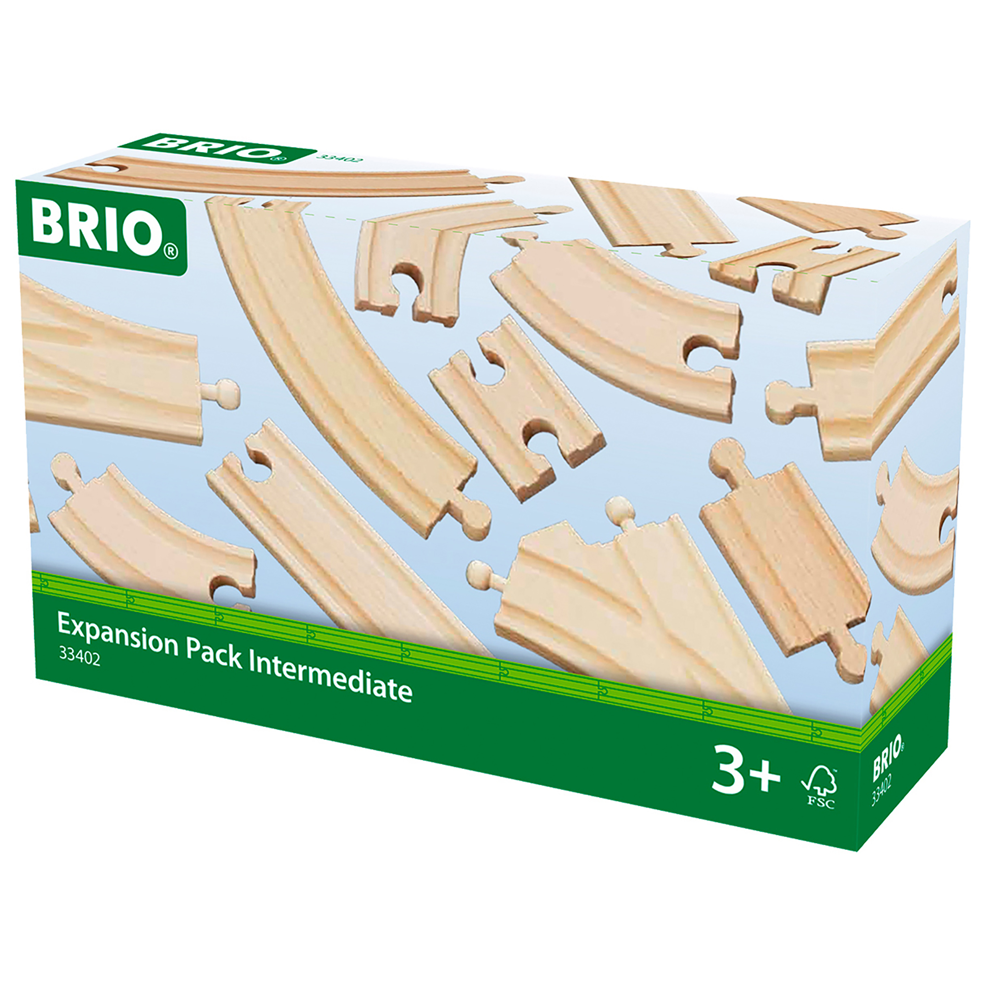 Picture of BRIO Railway Track Expansion Pack Intermediate