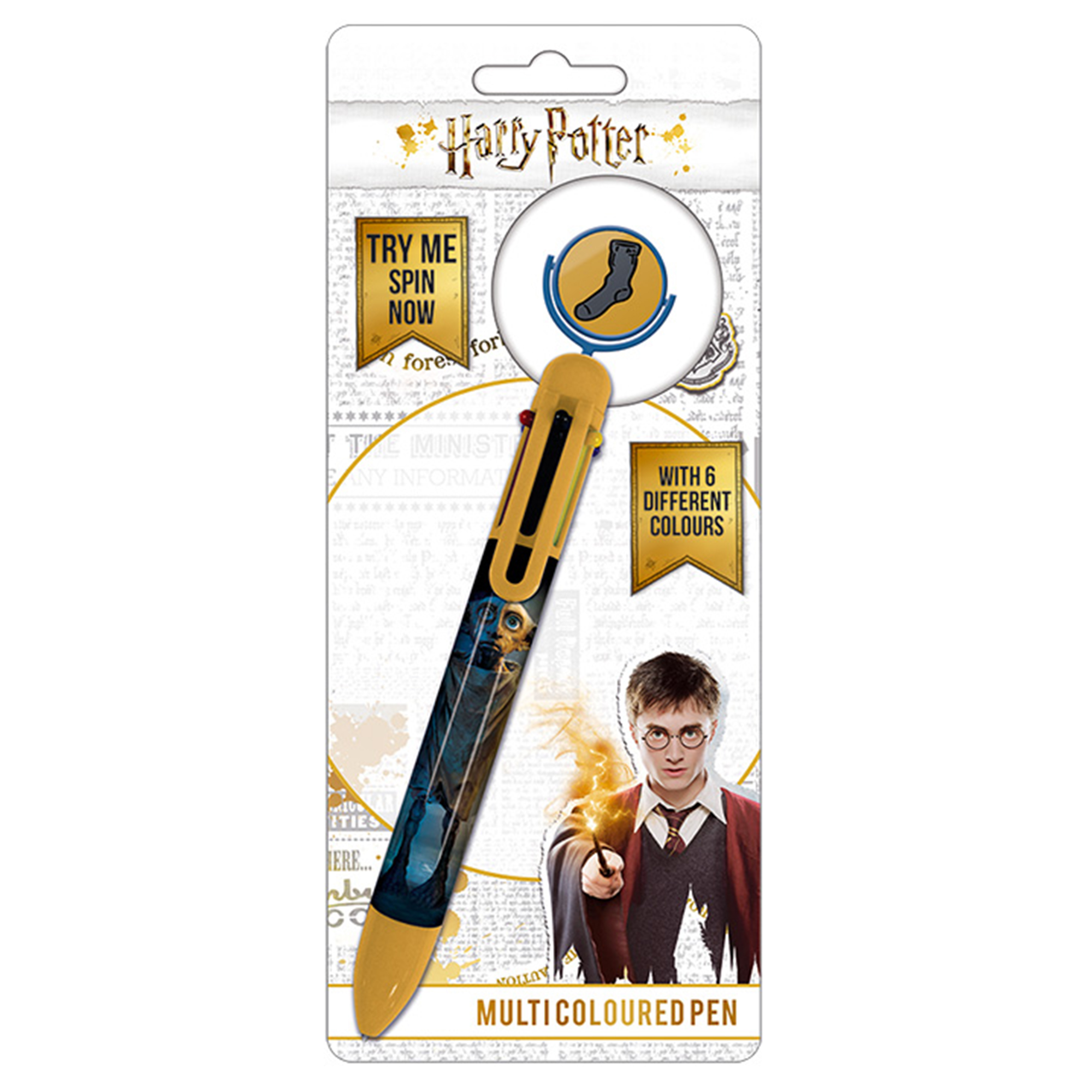 Picture of Harry Potter Dobby Multi-Colour Pen