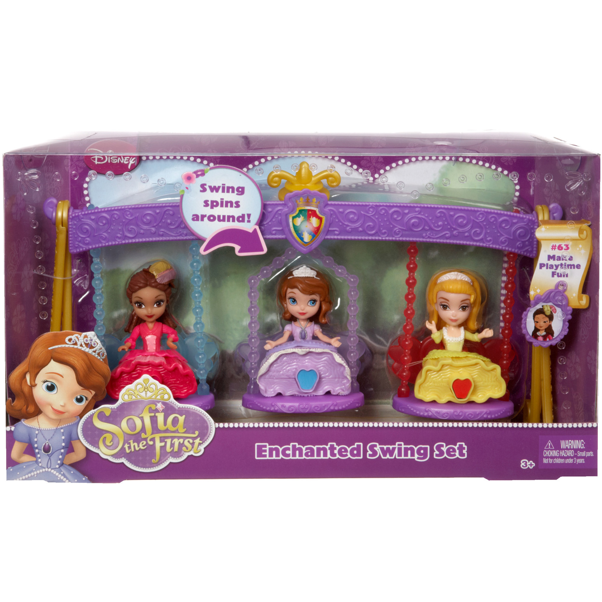 Picture of Disney Sofia the First Sofia & Friends 3 Pack Assortment