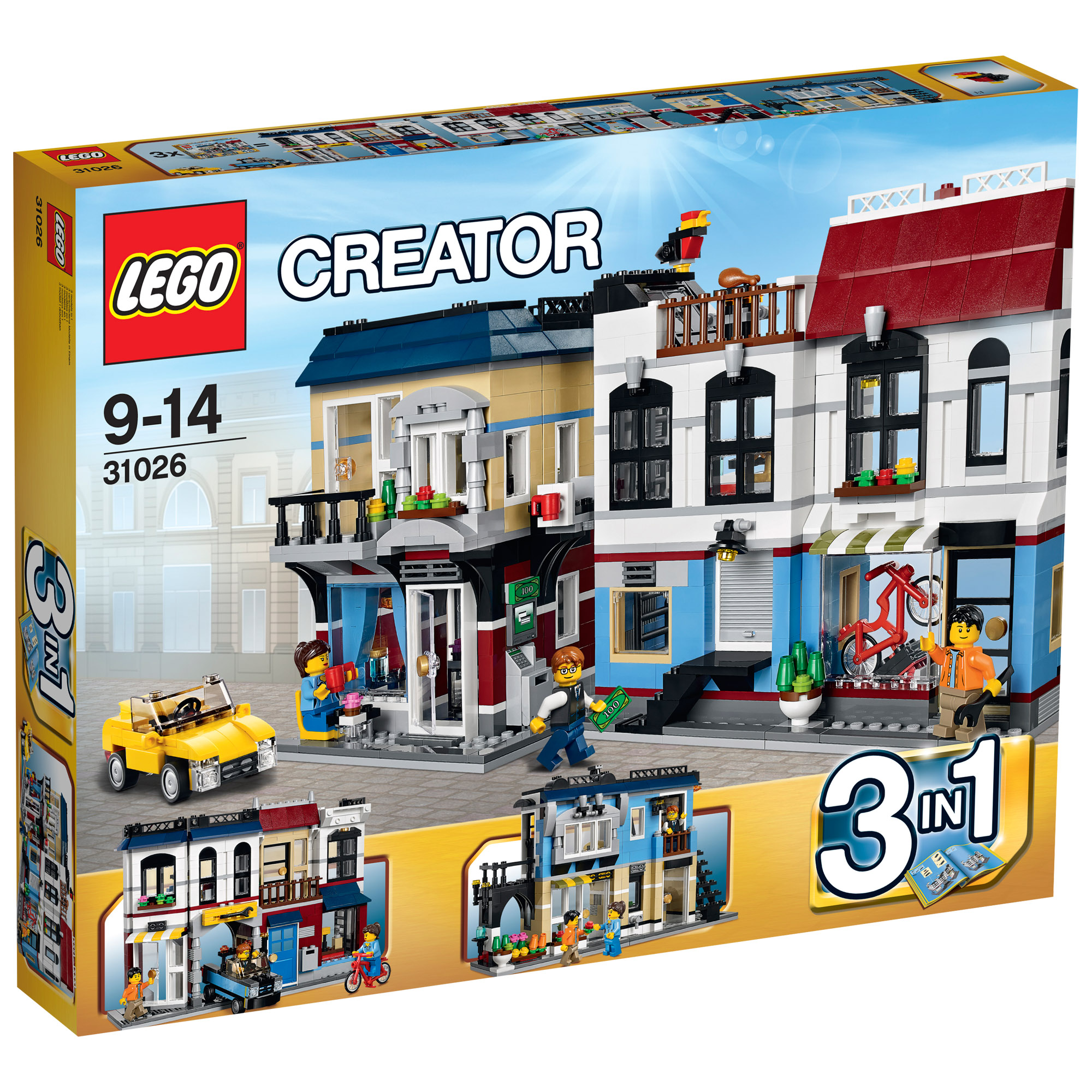 Picture of LEGO Creator Bike Shop & Cafe 31026