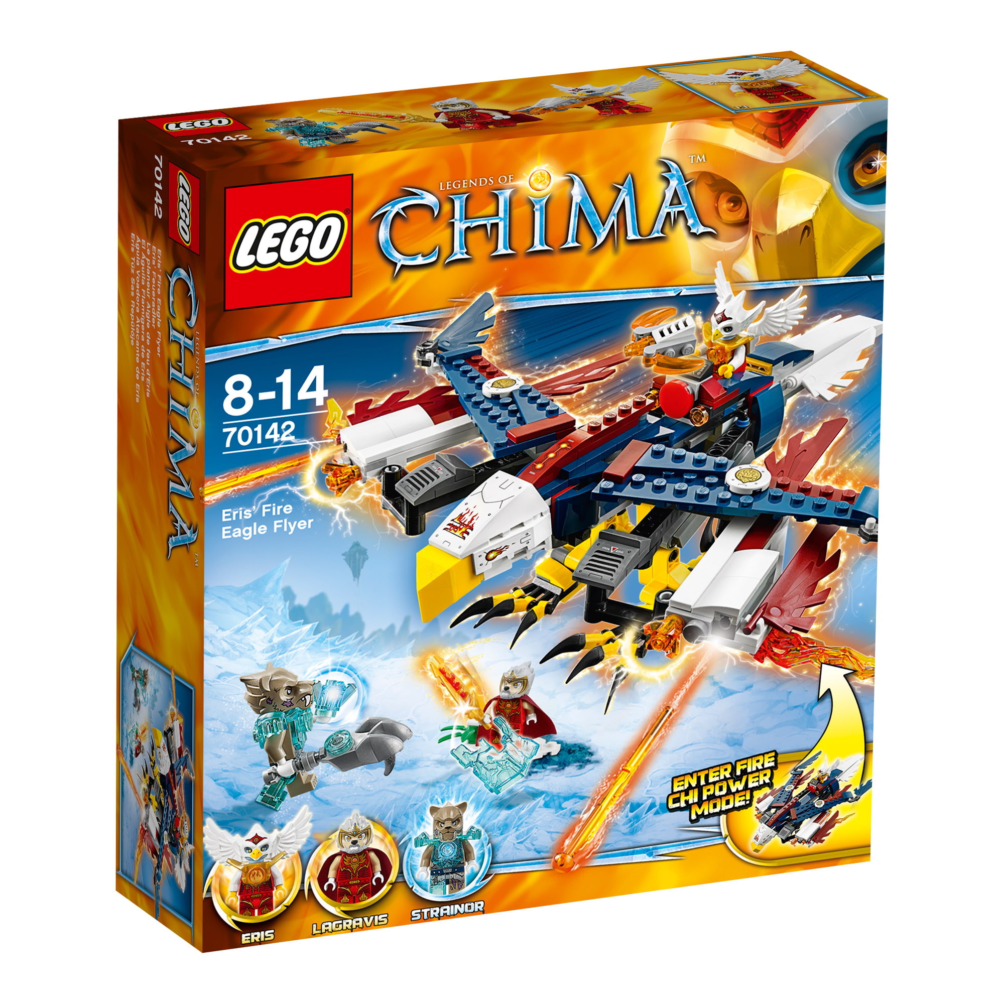 Picture of LEGO Chima Eris' Fire Eagle Flyer 70142