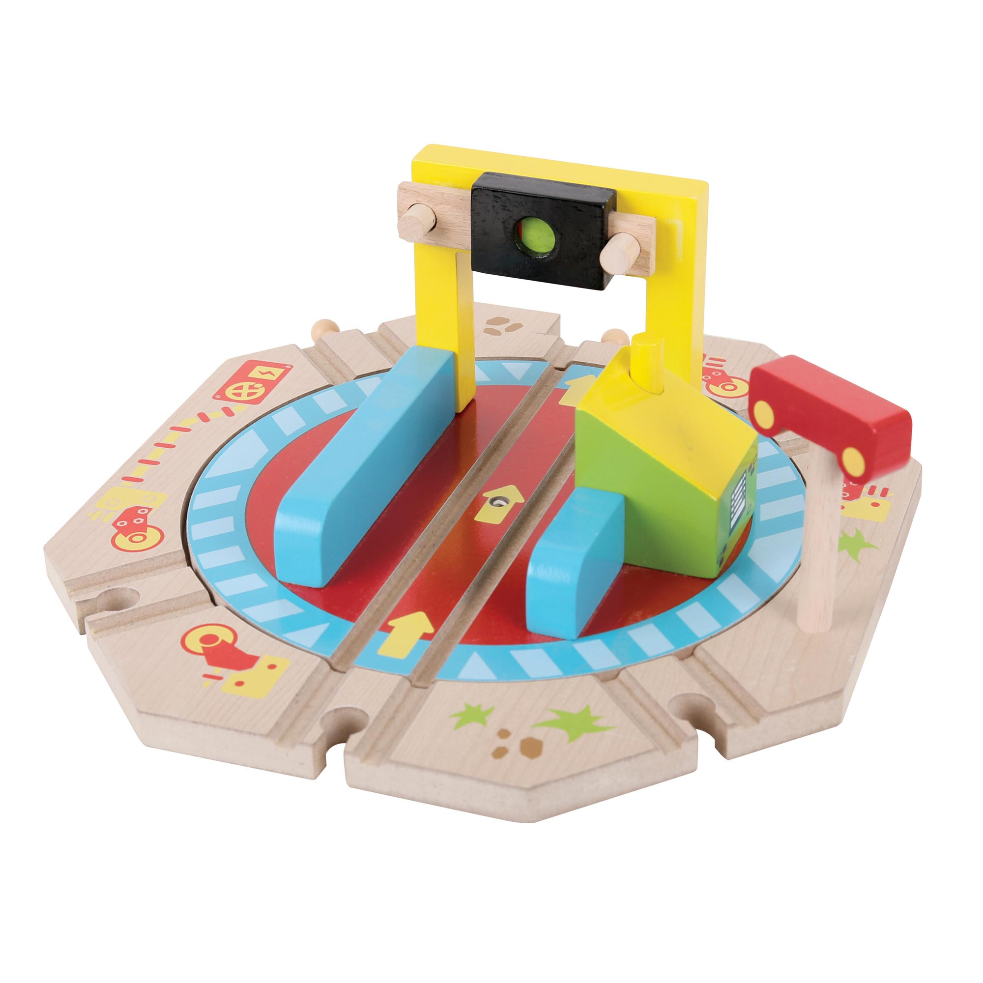Picture of Bigjigs Rail Industrial Turntable