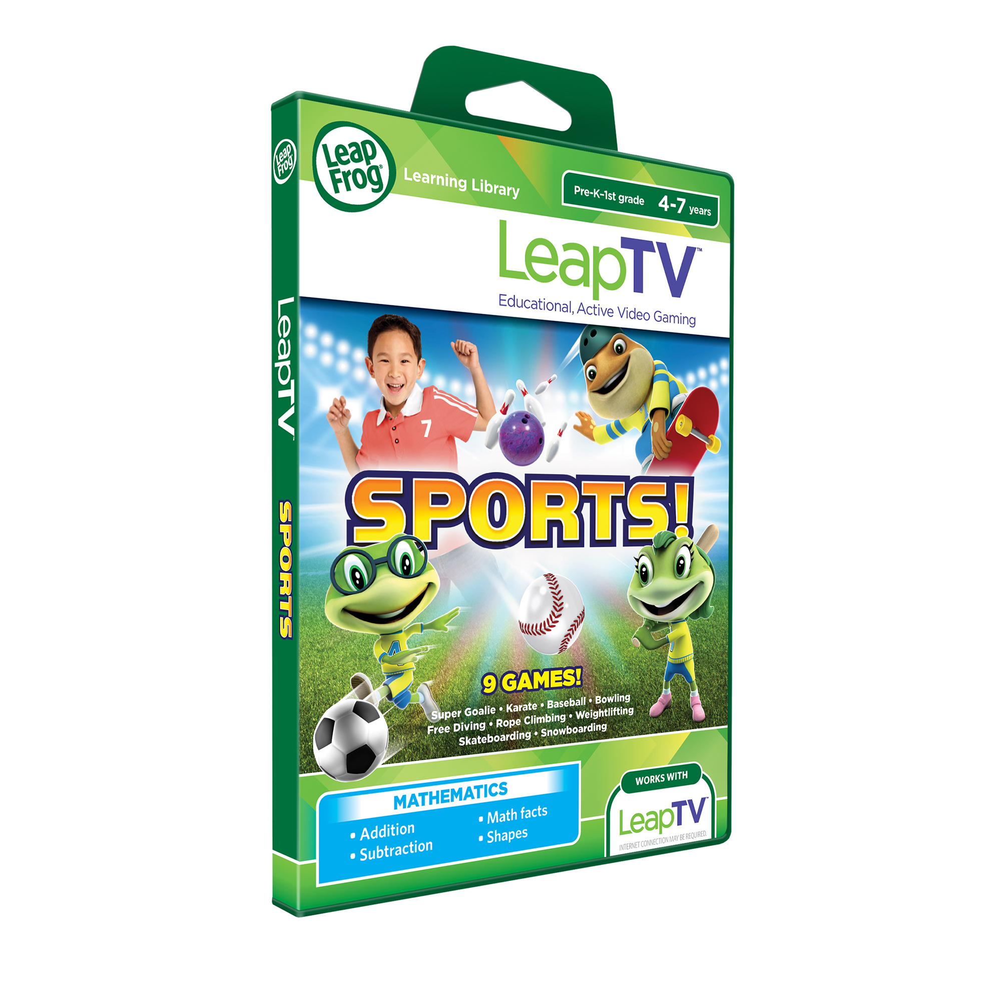 Picture of LeapFrog Sports LeapTV Software