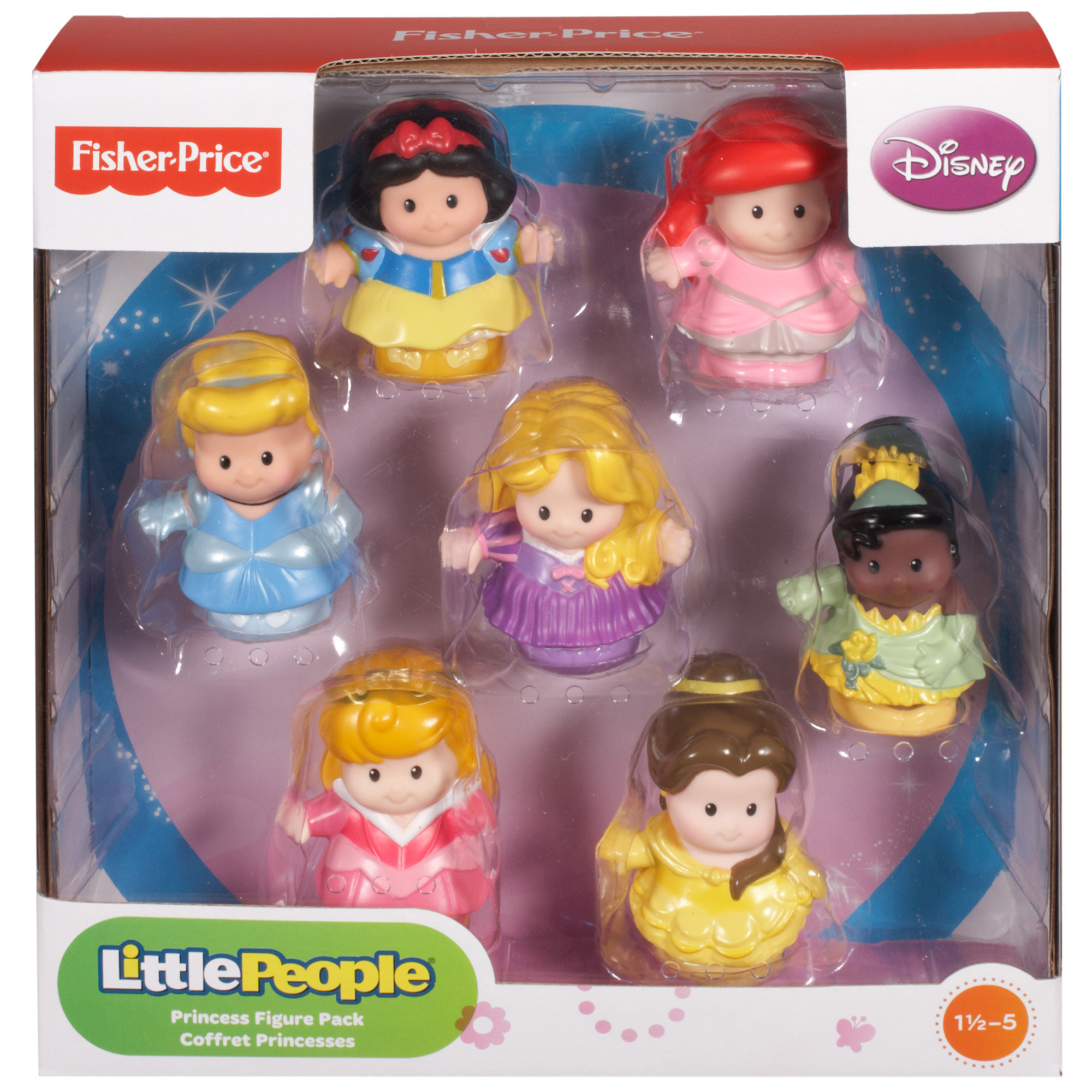 Picture of Disney Princess Little People Figure Pack