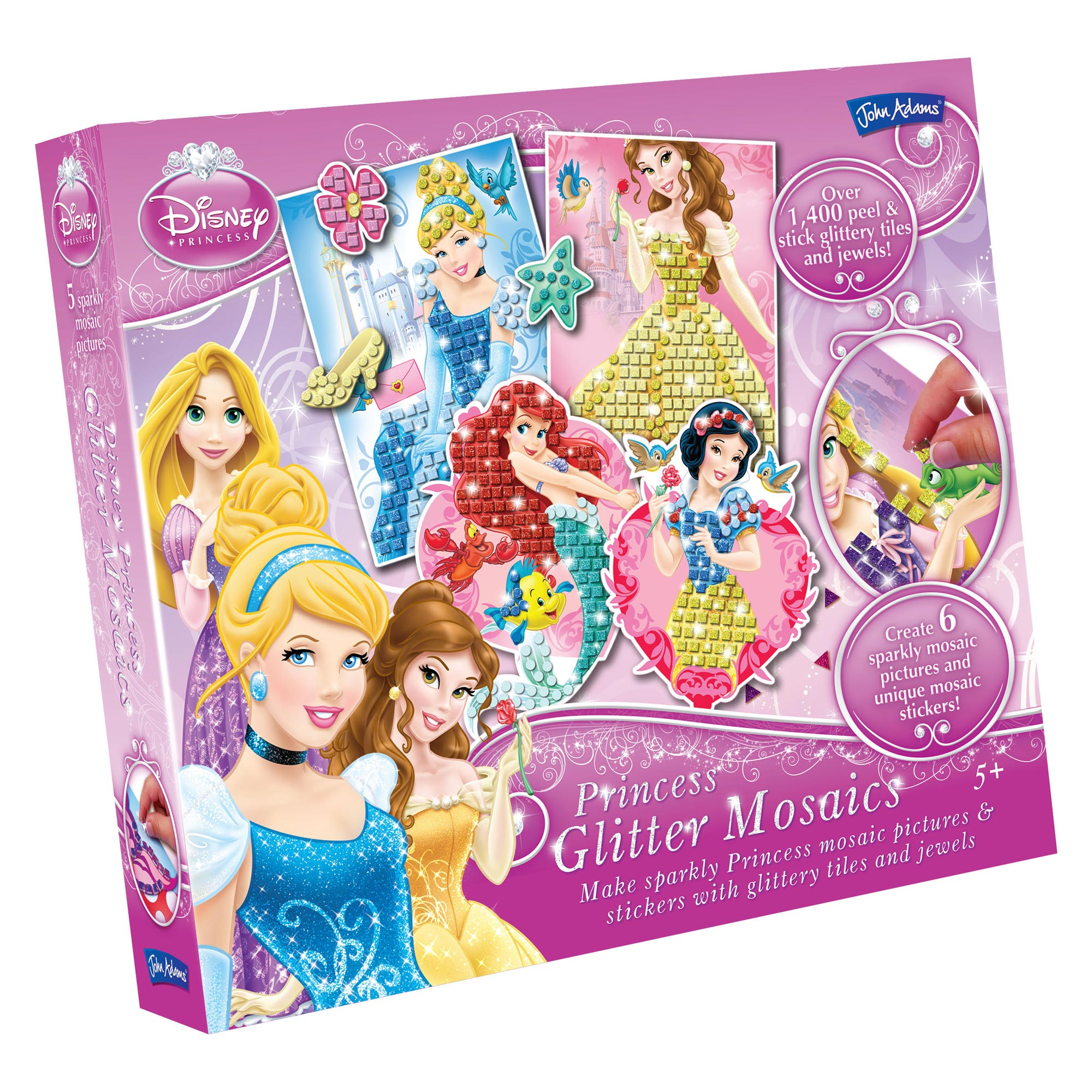 Picture of Disney Princess Glitter Mosaics
