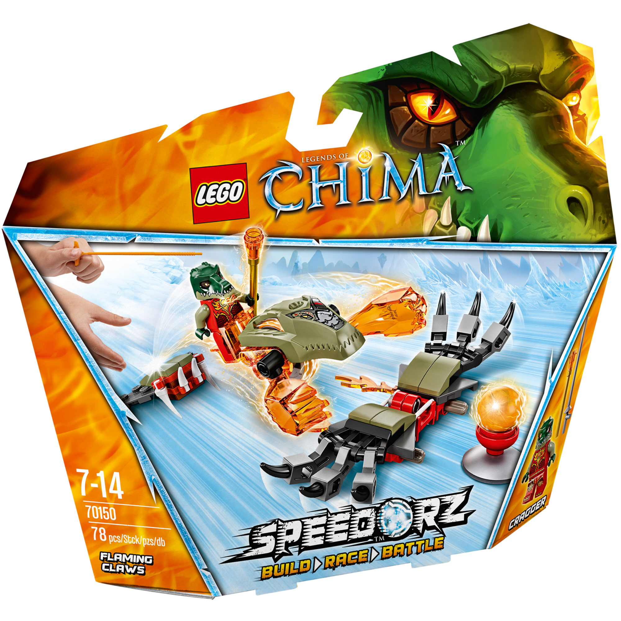 Picture of LEGO Chima Flaming Claws 70150