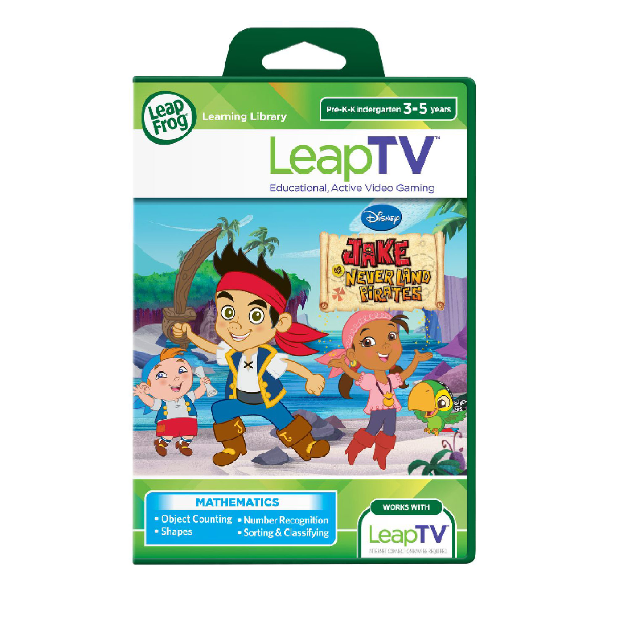 Picture of LeapFrog Disney Jake & The Neverland Pirates LeapTV Software