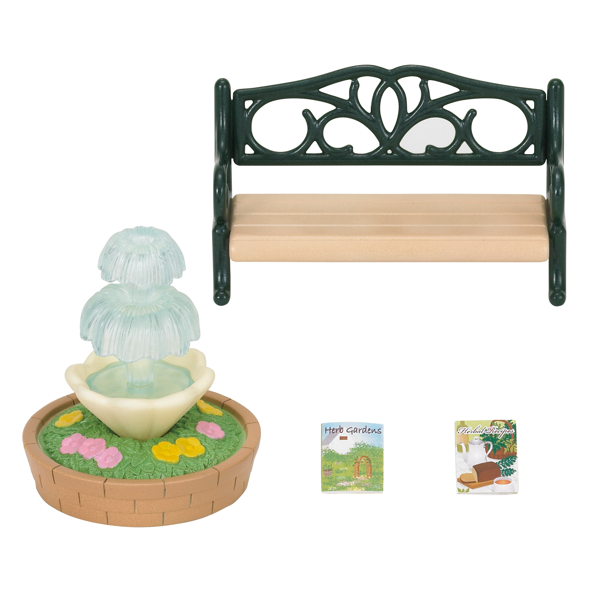 Picture of Sylvanian Families Bench & Fountain