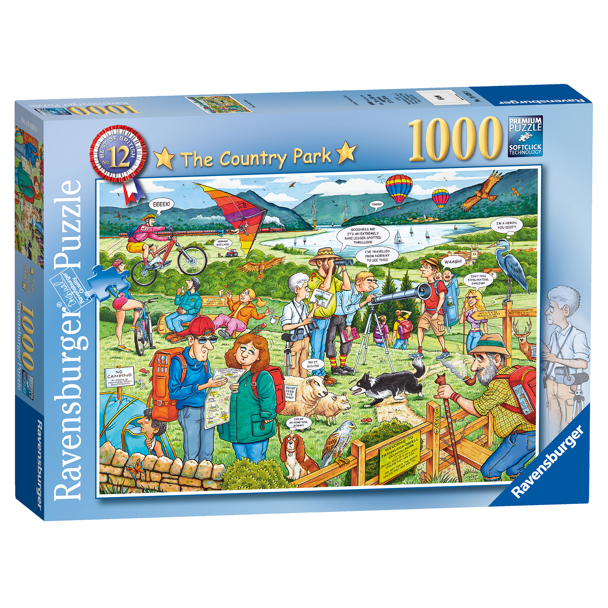 Picture of Ravensburger Best Of British The Country Park 1000 Piece Puzzle