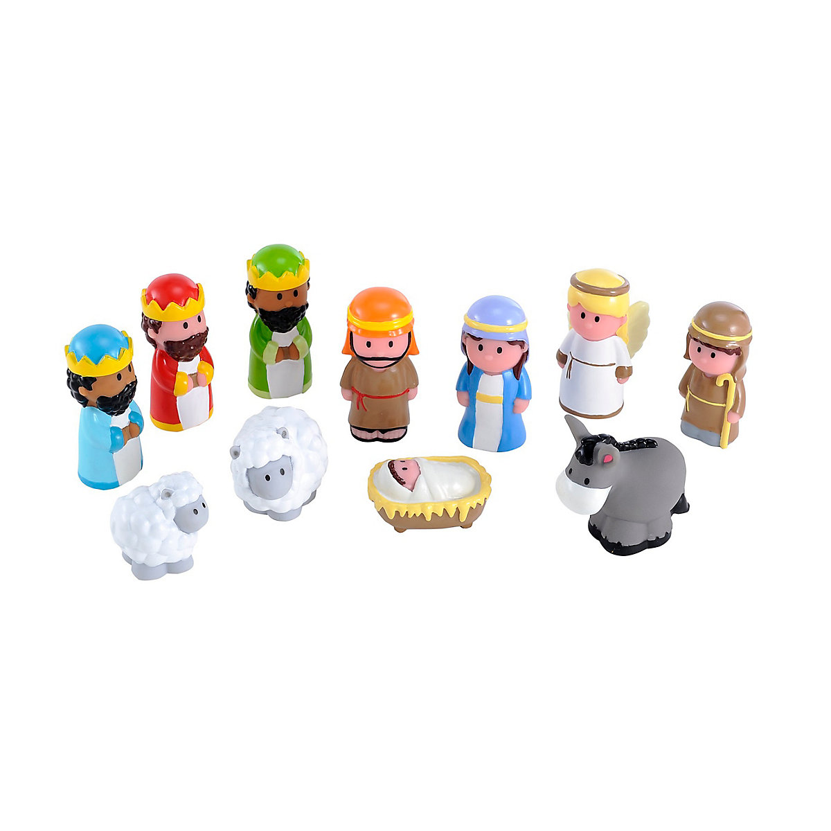 Picture of New ELC Boys and Girls Happyland Nativity Set Toy From 18 months