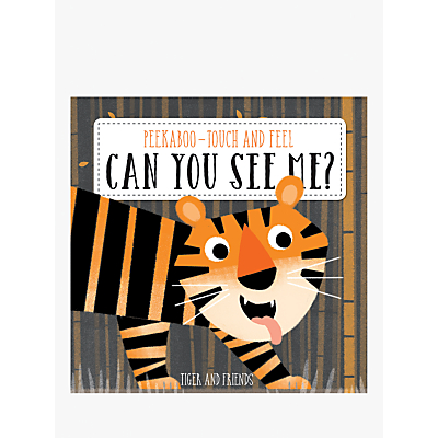 Picture of Peekaboo Touch And Feel Can You See Me? Children's Book