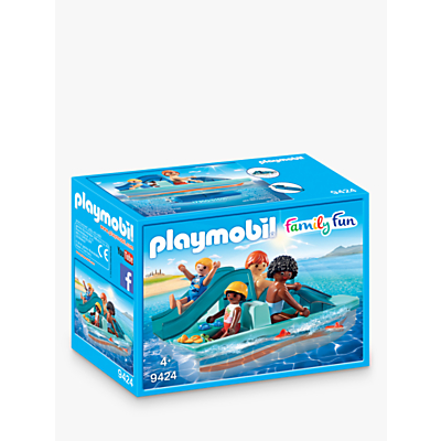 Picture of Playmobil Family Fun 9424 Floating Paddle Boat