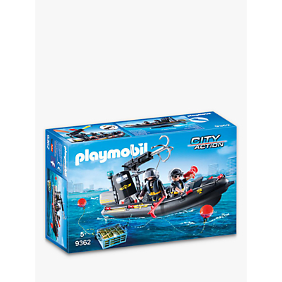 Picture of Playmobil City Action 9362 SWAT Boat