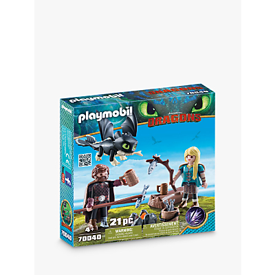 Picture of Playmobil Dragons 70040 Hiccup and Astrid with Baby Dragon Play Set