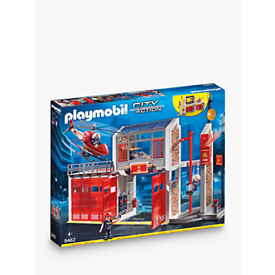 Picture of Playmobil City Action 9462 Fire Station Fire Alarm