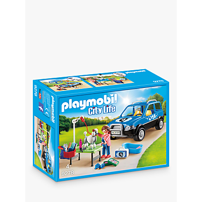 Picture of Playmobil City Life 9278 Mobile Pet Groomer