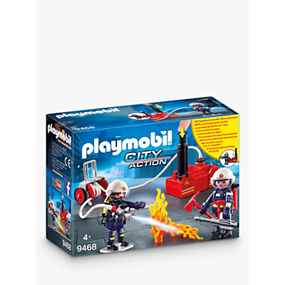 Picture of Playmobil City Action 9468 Firefighters With Water Cannon
