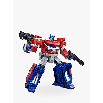 Picture of Transformers Generations War for Cybertron: Siege Voyager Class WFC-S11 Optimus Prime Action Figure